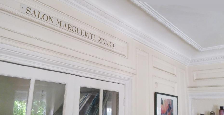Salon Marguerite Rivard, fondatrice Auxilia (Bourg la Reine)