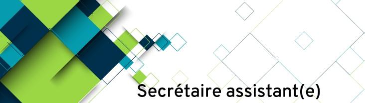 Formation CR Auxilia : secrétaire assistant